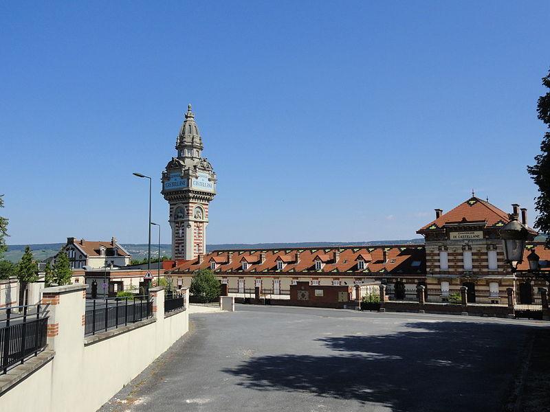 Maison de Champagne De Castellane à Épernay