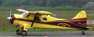 De Havilland Canada DHC-2 Beaver - A Beaver, operated by Freebird Wilderness Tours, at Airport Niederrhein in Germany