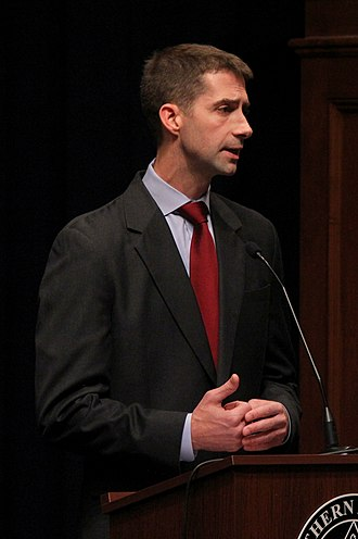 Tom Cotton - Cotton participating in a 2012 congressional debate at Southern Arkansas University