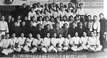 2nd A picture showing the Participants in the 13th regular promotion test. The picture was taken in 1953.