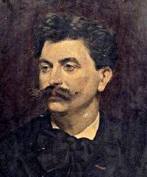 Jules Delsart - Jules Delsart, portrait by Julien Decle