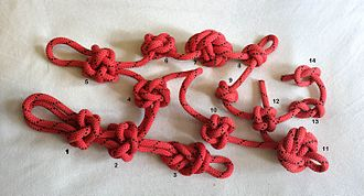 Stopper knot - Image: Decorative Stopper Knots