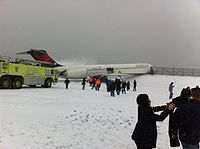Delta Air Lines flight 1086 from Atlanta to New York LaGuardia on 05 March 2015.jpg