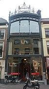 foto van Winkelpand met glasgevel in art-nouveau stijl