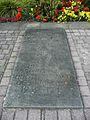 Denkmal Bad Dürkheim 1914-1918 und 1939 - 1945 rechte Bodenplatte.JPG