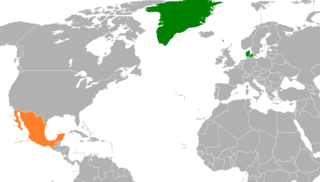 Diplomatic relations between the Kingdom of Denmark and the United Mexican States
