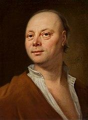 Portret mężczyzny w żółtym płaszczu