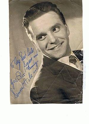 Dennis Hale (vocalist) - Photo sent by Dennis to his sister