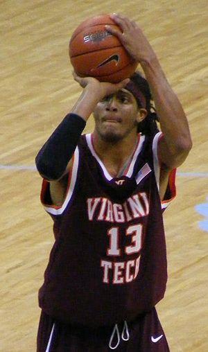 Deron Washington - Washington with Virginia Tech.