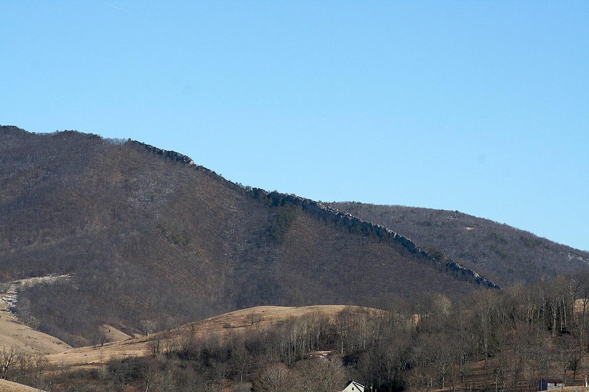 Sandstone Elevation : Devils backbone highland county virginia wikipedia