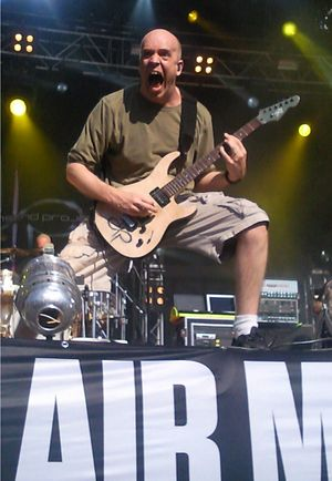 Devin Townsend - Devin Townsend performing at Tuska Metal Festival, Finland (July 2010).