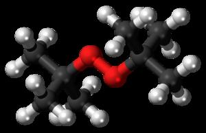 Di-tert-butyl peroxide - Image: Di tert butyl peroxide 3D balls