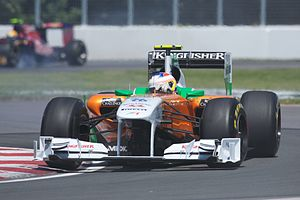 Paul di Resta - Di Resta at the 2011 Canadian Grand Prix