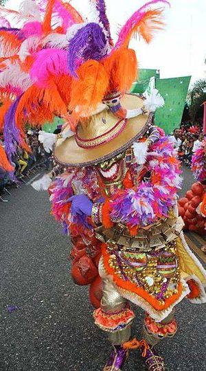 Comparsa - Diablo Cojuelo tradicional del carnaval Dominicano