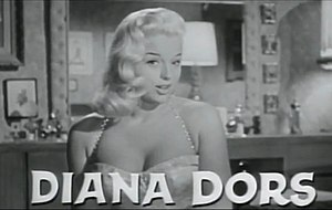 Diana Dors - Dors in I Married a Woman trailer, 1958