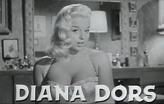 Diana Dors English actress and singer