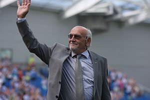 Brighton & Hove Albion F.C. - Former Brighton chairman Dick Knight who ultimately saved the club
