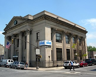 The Dime Savings Bank in Williamsburg