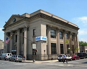 Williamsburg, Brooklyn - The Dime Savings Bank of Williamsburgh