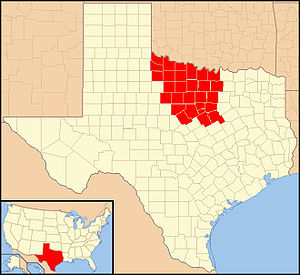 Roman Catholic Diocese of Fort Worth - Image: Diocese of Fort Worth in Texas