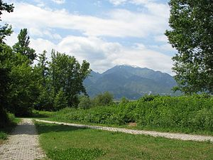 Dion, Pieria - View of Mount Olympus
