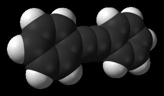 Diphenylacetylene - Image: Diphenylacetylene 3D vd W