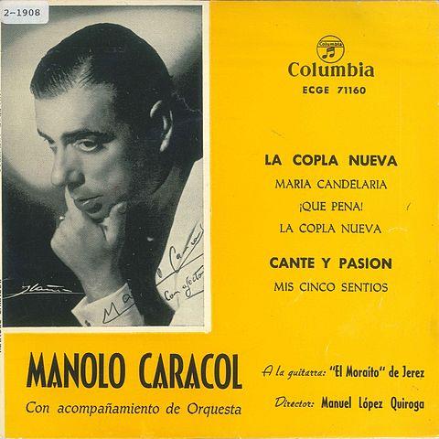 DISCO CON MANOLO CARACOL