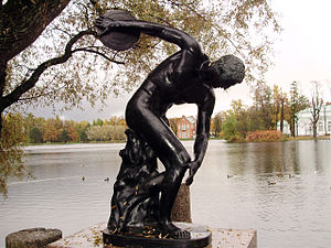 Discobolus near the Granite Pier in Catherine Park.jpg, автор: Vasyatka1