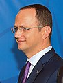 Ditmir Bushati at NATO Summit in Wales (14961134157).jpg