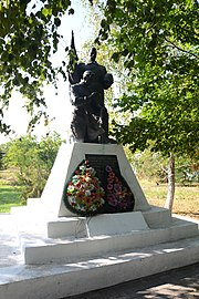 Dmytrivka Brothery Grave and Monument of WW2 Warriors Park (YDS 4973).jpg