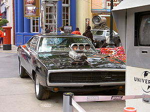 Vin Diesel - Diesel's main car, a Dodge Charger, from Fast & Furious