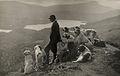 Dogs help a Scottish gamekeeper keep watch in Aberfoyle, Scotland.jpg