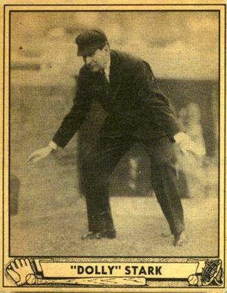 Dolly Stark (umpire) - Stark's 1940 Play Ball  baseball card