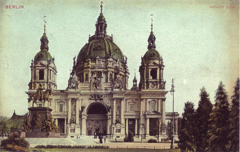 Dom, Berlin 1900