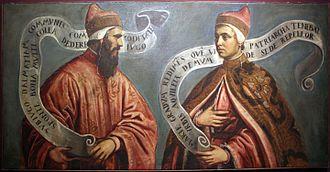 Pietro II Orseolo - Pietro II (left) and his son Ottone