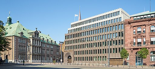 Domshof - Neues Rathaus, Landesbank, Deutsche Bank jh