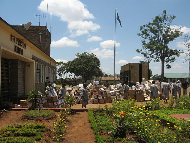 Kamiti Prison By Adamesmith (Own work) [CC-BY-SA-3.0 (https://creativecommons.org/licenses/by-sa/3.0) or GFDL (http://www.gnu.org/copyleft/fdl.html)], via Wikimedia Commons