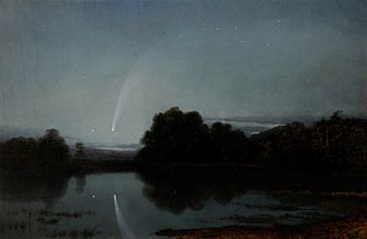 Comet Donati - Donati's Comet inspired a large number of artists, such as James Poole.