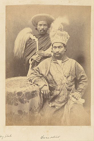 Amjad Ali Shah - Image: Doresetoter, Son of Umjud Ally Shah, and His Servant attributed to Felice Beato