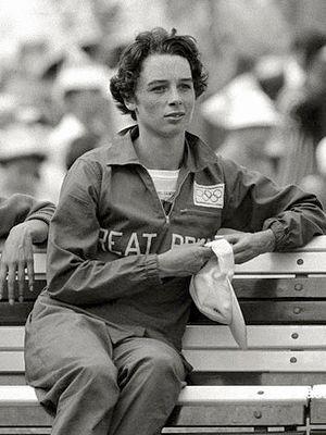 Dorothy Hyman - Dorothy Hyman at the 1960 Olympics