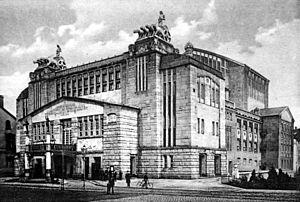 Theater Dortmund - Stadttheater Dortmund, destroyed in World War II