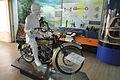 Douglas - 1925 - 2 cyl - 348 cc - UP-1008 AD - Transport Gallery - BITM - Kolkata 2016-06-02 4050.JPG