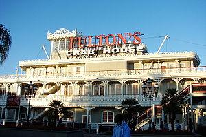Pleasure Island (Walt Disney World) - Fulton's Crab House riverboat restaurant