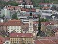 Downtown Evangelical Church Miskolc from Avas.jpg