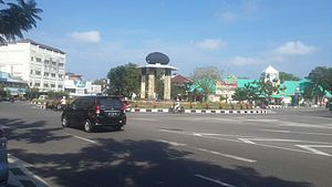 Bangka Belitung Islands - Tanjung Pandan, the largest town in Belitung Island.
