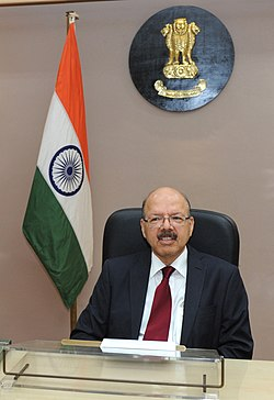 Dr. Syed Nasim Ahmad Zaidi assumes the charge as the Election Commissioner of India, in New Delhi on August 07, 2012.jpg