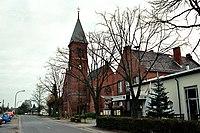 Drachhausen, die Dorfkirche St. Laurentius.jpg