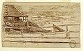 Drawing, House at a Railing with Beached Dories, Cullercoats, England, 1881 (CH 18175073-2).jpg