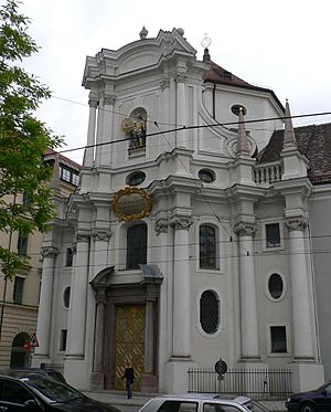 Giovanni Antonio Viscardi - Dreifaltigkeitskirche (Trinity Church) in Munich