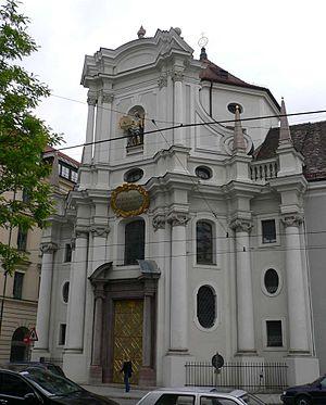 Giovanni Antonio Viscardi - Dreifaltigkeitskirche (Trinity Church) in Munich